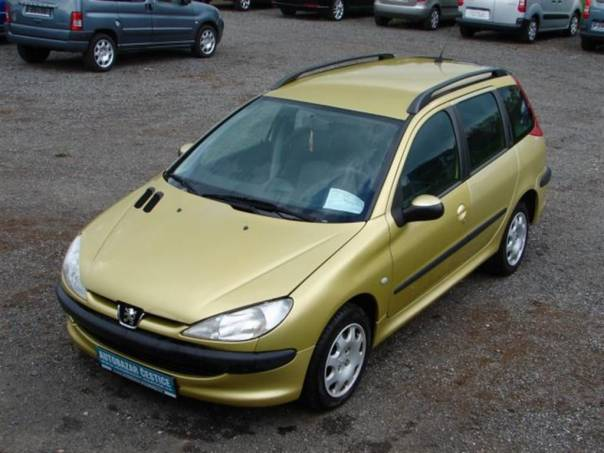 Peugeot 206 SW 1,2 i WEBASTO TOP STAV, foto 1 Auto – moto , Automobily | spěcháto.cz - bazar, inzerce zdarma